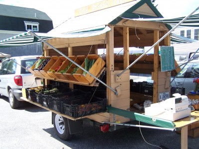 Mobile Farm Stand Maine