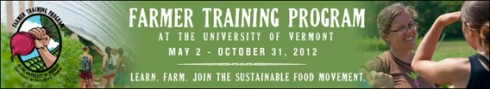 UVM Farmer Training Program 2012