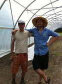 Urban Farmers Alex Bryan and Noah Link
