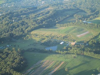 Arial Farm Photo
