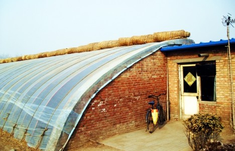 Chinese Passive Solar Greenhouse