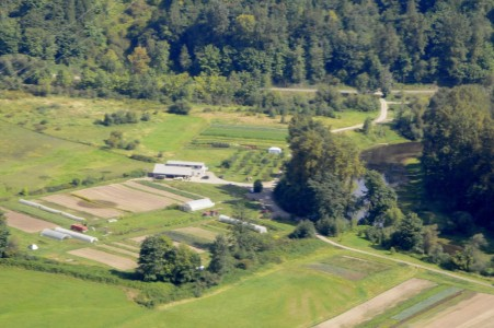 Arial Photo of Farm