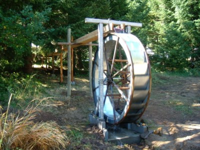 Water Wheel Picture
