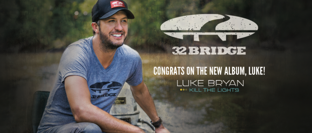Luke Bryan releases album and clothing line with Cabela's.