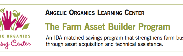 Matched Savings for Farmers