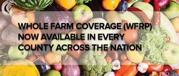 crop insurance for diversified farmers