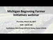 Michigan Beginning Farmer Initiatives