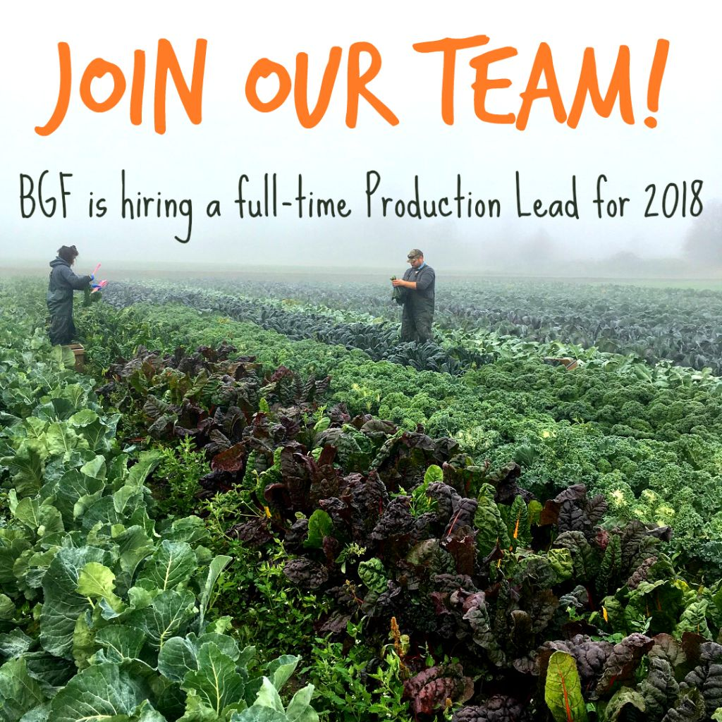 Farm Production Lead Job In Washington