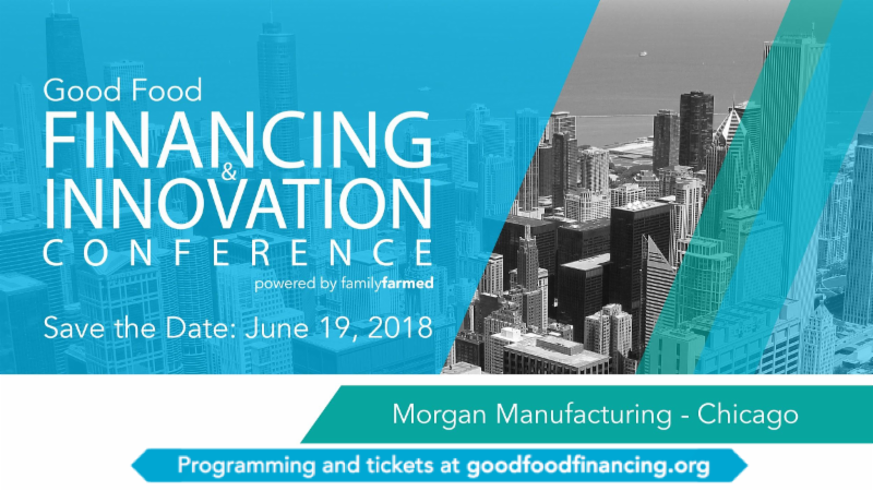 good food financing and innovation conference