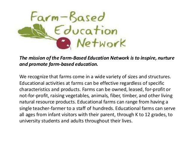 farm based education