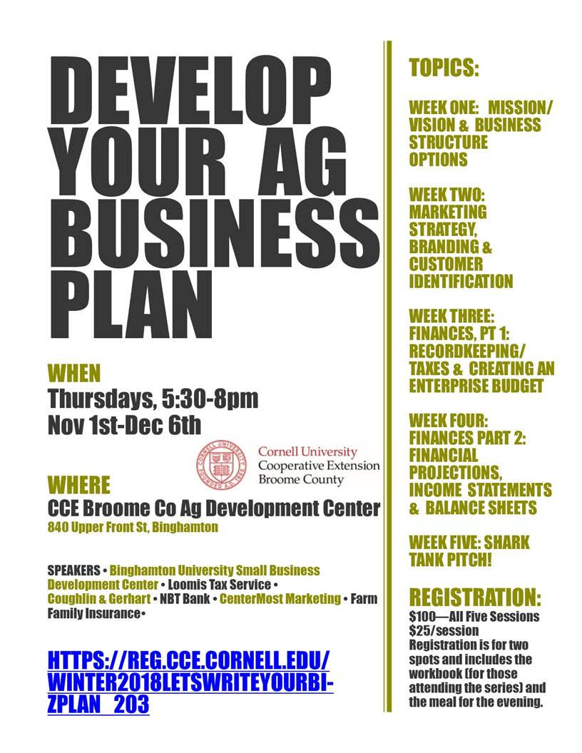 Develop Your Ag Business Plan