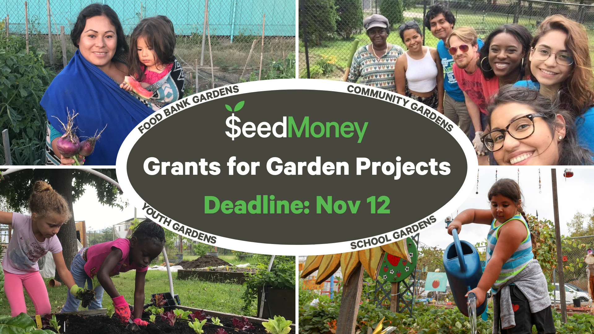 Funding for Public Food Gardens